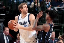 Nowitzki pimpin Mavericks atasi Magic