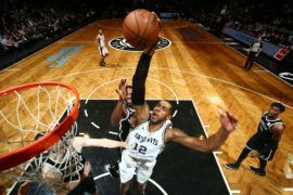 Spurs kembali tanpa Leonard saat kalahkan Nets 100-95