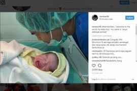 Tontowi Ahmad dikaruniai putra kedua