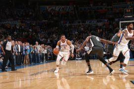 """Lay-up"" Westbrook menangkan Thunder atas Nets"
