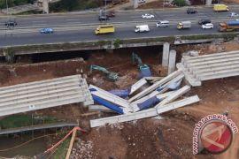 Pemerintah selesai evaluasi ambruknya girder tol