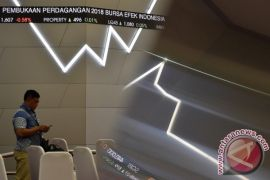 Indeks BEI menguat 12,38 poin