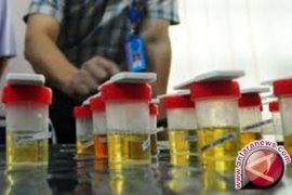 Lima honorer Dinkes Penajam absen jalani tes urine