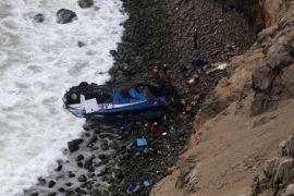 Bus masuk jurang di Peru, sedikitnya 36 orang tewas