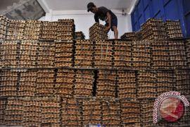 Harga telur dan cabai turun di Sukabumi