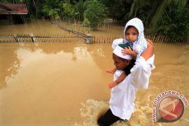 Kapolres Aceh Utara salurkan bantuan untuk korban banjir