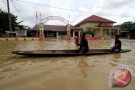 BPBD: Tiga kecamatan Singkil dilanda banjir