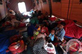 Muslimah Gaza bantu korban gempa di Banten