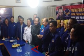 KPU Jawa Barat verifikasi Partai Nasdem