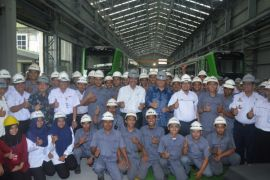 Menperin sebut Indonesia pemain besar manufaktur kereta
