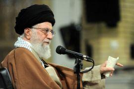 Pemimpin tertinggi Iran kecam Trump