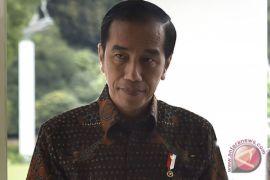 Presiden Jokowi tiba di Sumatera Selatan