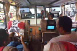 Dishub Banten uji kelaikan bus AKAP