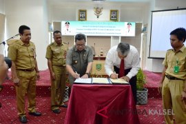 Pemkab Balangan Laksanakan MoU Dengan BPKP Kalsel