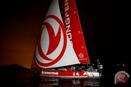 The Team of China - Dongfeng Race Team menangi Volvo Ocean Race 2017-18
