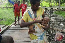 Tm kesehatan tangani diare-gizi buruk di Okbab, Papua