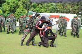 TNI-Polri Pamekasan Latihan Bersama Pengamanan Pilkada
