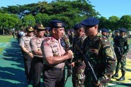 Pasukan Brimob Gorontalo Kembali Dari Operasi Tinombala