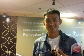 Aktor asal China ini akui terkendala bahasa di film kolaborasi Indonesia-China