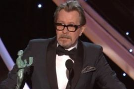 Gary Oldman hampir menangis di Screen Actors Guild