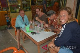 Wisman inggris mendominasi wisata ke Aceh
