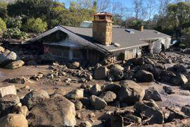Delapan orang belum ditemukan, setelah tanah longsor tewaskan 17 di California