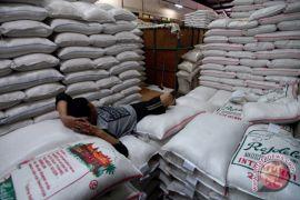 Harga beras medium di Cipinang turun
