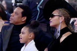 Gaya Beyonce pada Grammy Award