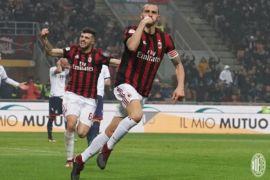 Gol pertama Bonucci antar AC Milan atasi Crotone 1-0