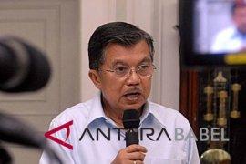 Wapres kunjungan ke Palangkaraya dan Makassar