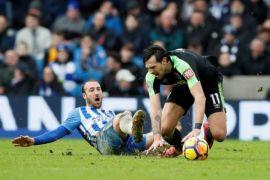 Murray cetak gol kemenangan Brighton atas Palace