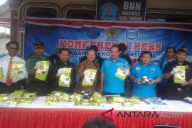 BNN gagalkan peredaran 25,8 kilogram sabu di Aceh