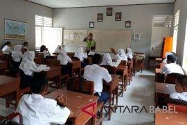 Satlantas Bangka Barat giatkan sosialisasi di sekolah