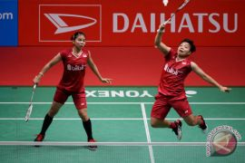 Greysia/Apriyani runner-up di Indonesia Masters 2018