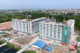 Pembangunan Rusunami Wisma Atlet Jakabaring