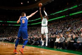 Celtics hantam Knicks 103-73 meski tanpa Kyrie Irving