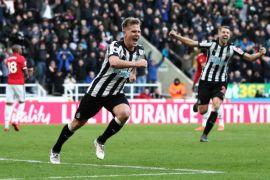 Newcastle bangkit taklukkan Arsenal 2-1