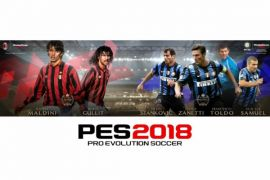 Jajaran legenda Milan dan Inter bakal muncul di seri PES
