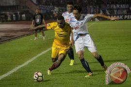 Ratusan suporter Sriwijaya FC diberangkatkan ke Jakarta