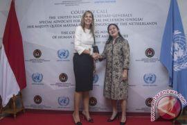 Ratu Maxima kunjungi kantor Menko Perekonomian