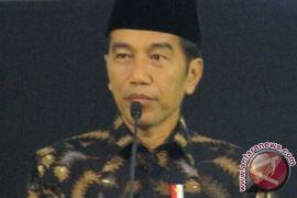 Presiden disambut riuh peserta Festival Sholawat Nusantara
