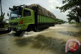 Sejumlah wilayah Kota Madiun terendam banjir
