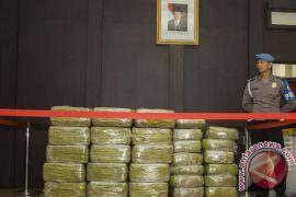 Polisi amankan delapan kilogram sabu dalam ban serep mobil