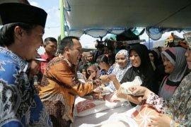 10 Ton Beras Untuk Operasi Pasar di Kabupaten Tulangbawang Lampung