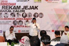 Empat calon Gubernur-Wakil Gubernur Jawa Barat ditetapkan