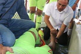 Edy Rahmayadi spontan bantu peserta futsal cidera