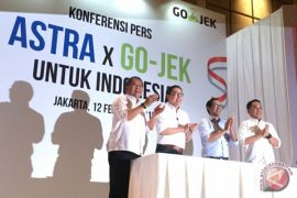 Astra investasi Rp2 triliun di Gojek