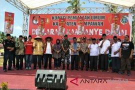 KPU Mempawah gelar deklarasi kampanye damai
