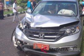 Mobil dinas Ketua DPRD alami kecelakaan