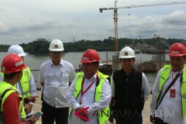 """Yusran instruksikan segera persiapkan """"groundbreaking"""" proyek jembatan Penajam-Balikpapan"""